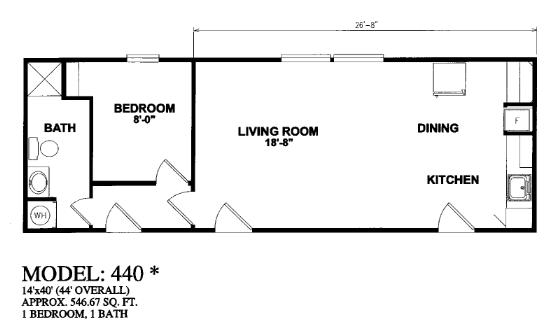 Oilfield trailer houses unit floor plans prices on mancamps for 14 x 40 house plans