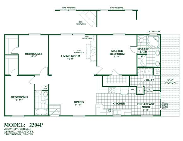 Oak creek homes double wides san antonio for South texas house plans