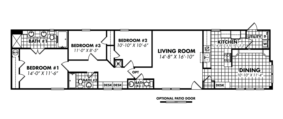 Legacy housing single wide modular manufactured for 3 bedroom 2 bath double wide floor plans