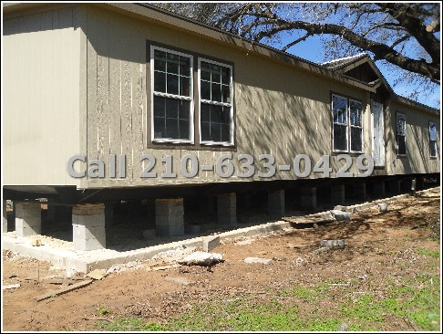 Mobile home transport repair improvement services for Home foundation
