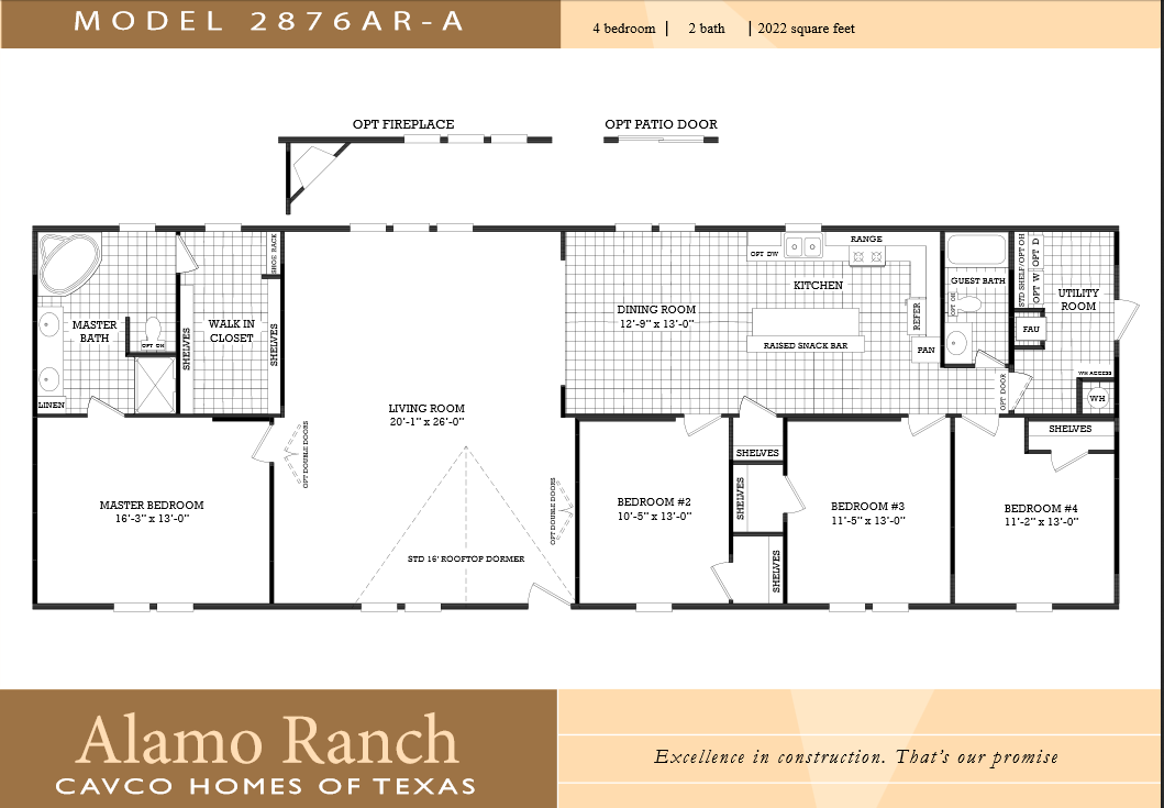 Double Wide Floor Plans 4 Bedroom 3 Bath 4 Bedroom Single