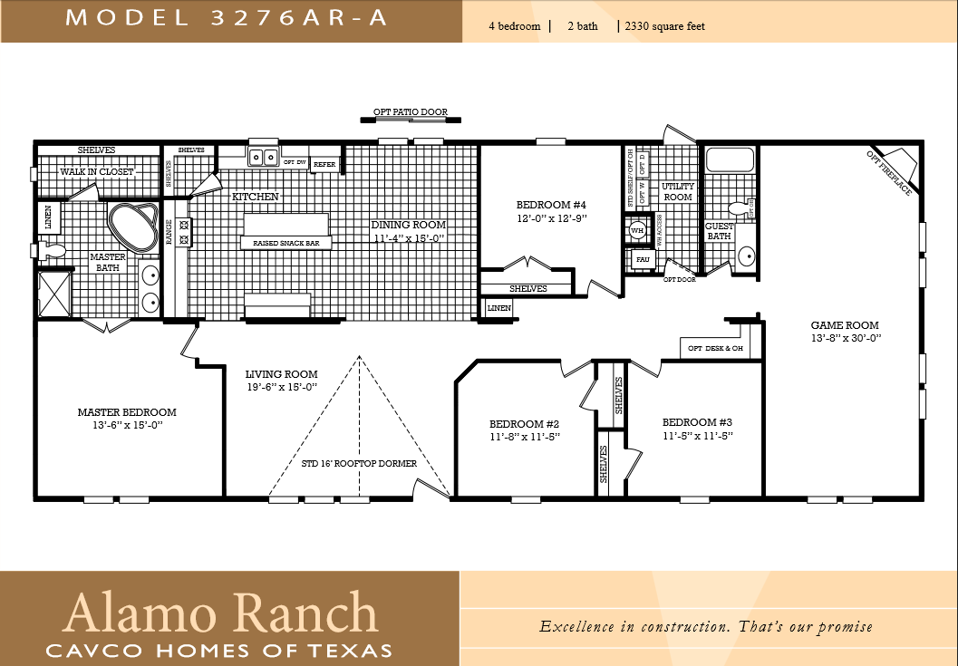 4 bedroom double wide mobile home floor plans galleryhip
