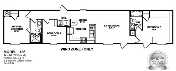 3 bedroom weindzone 1 oilfield house