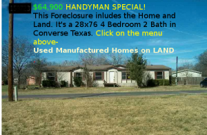 Used mobile homes Homes with Land