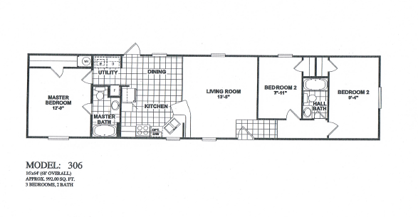303-single-wide-oakcreek-mobile-home-floorplan-3bdrm-2bth Used Single Wide Mobile Homes Texas on victorian homes texas, log cabin homes texas, modular homes texas, mobile home dealers texas, single wide trailers 2013, ranch homes texas, duplex homes texas,