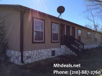 used double wide on land carrizo springs texas