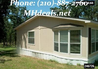 Doublewide Manufactured Home 1996 Oak Creek San Antonio