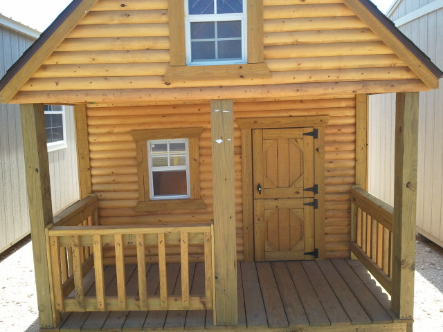 Rent To Own Childrens Playhouses Cabins Log Cabin San