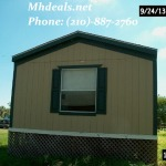 2006 OaskCreek Galaxy Used Singlewide Manufactured Home- Corpus Christi, TX 1