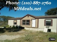 used doublewide manufacture home - san antonio, TX