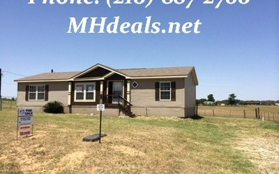 2008 Clayton Southern S Doublewide Home and Land- Poteet, TX