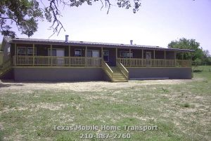 Modular Manufactured Home Transport Relevel Setup Retrofit base pads construction