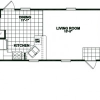 14×70 Mobile Home Floor Plan 14 x 60 mobile home plans 14 x 60 mobile home plans download home