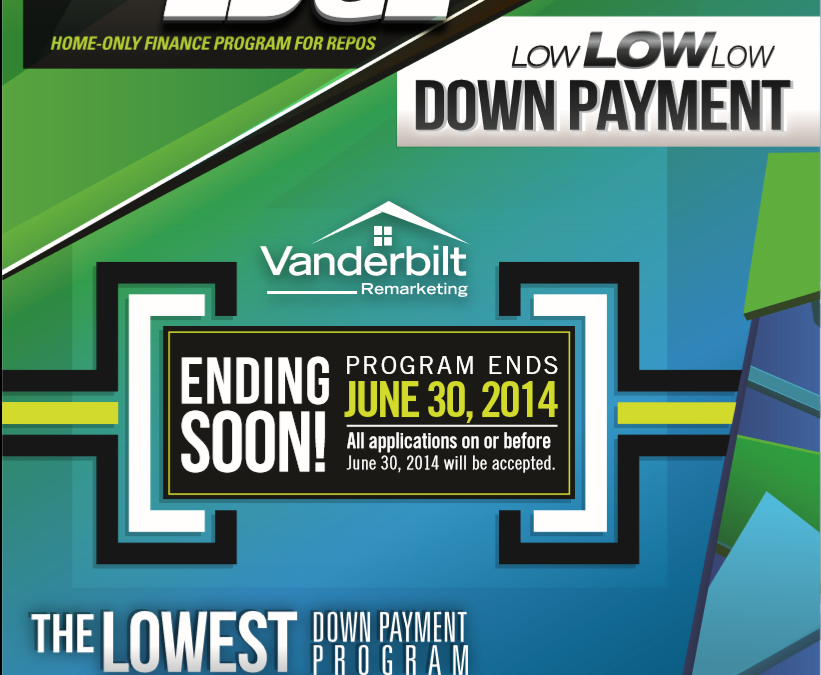 low down payment financing programs