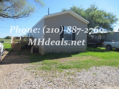 Wallis, TX Used Single Wide Home- 2013 Clayton Decision
