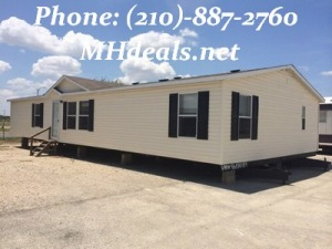 2002 Clayton Pinehurst used doublewide mobile home- San Antonio Texas