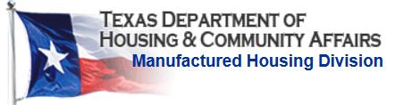manufactured housing division TDHCA license 36155