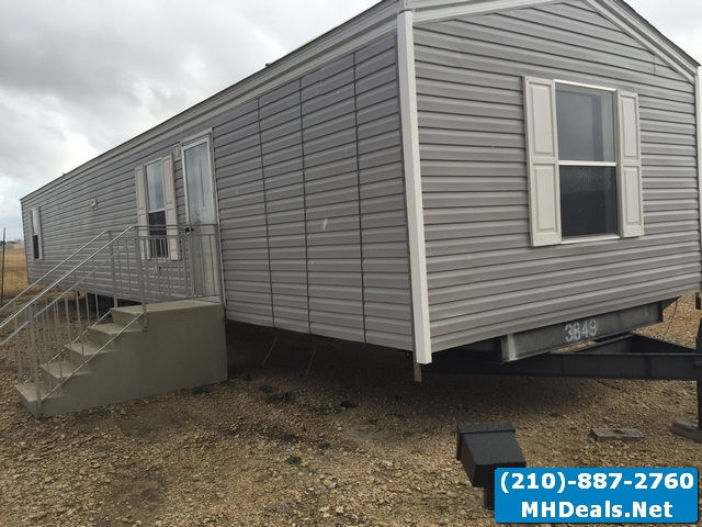 used manufactured home