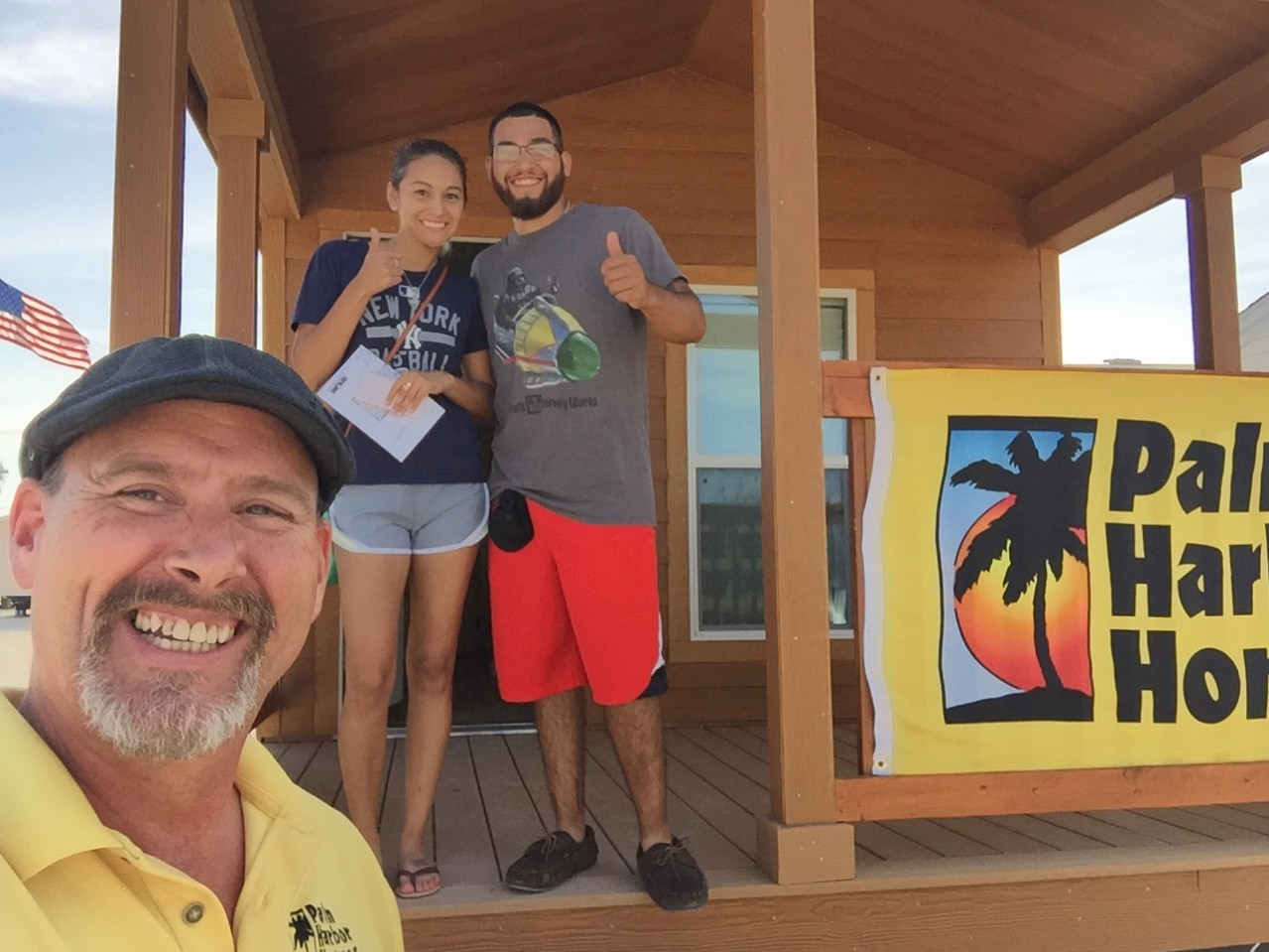 Congratulation Aaron Elizalde WINNER of the 2016 Tiny House Giveaway!!!