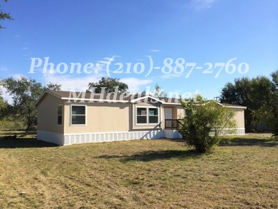 5 bed 3 bath Mobile home on land -San Antonio, TX 78253 $149,900