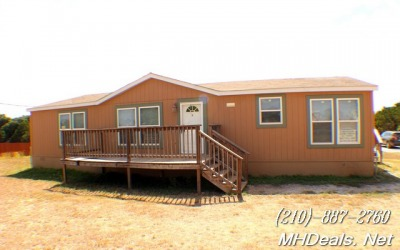 3 bed 2 bath Double-wide Manufactured home and land- Liberty Hill Texas