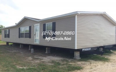 Atascosa Used Mobile Homes- 3 bed 2 bath Doublewide