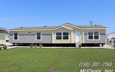 3 bed 2 bath New Doublewide Manufactured Home- BenBrook F