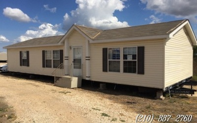 3 bed 2 bath used doublewide mobile Home-Seguin Texas