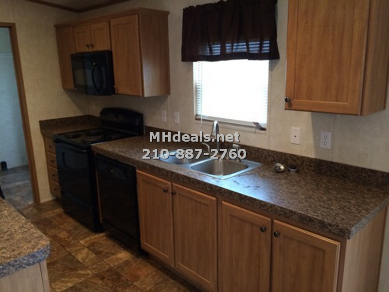 interior-kitchen-eddy texas repo mobile home on land for sale