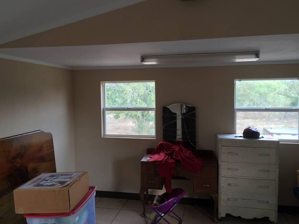 interior view small hunting cabin trailer 5