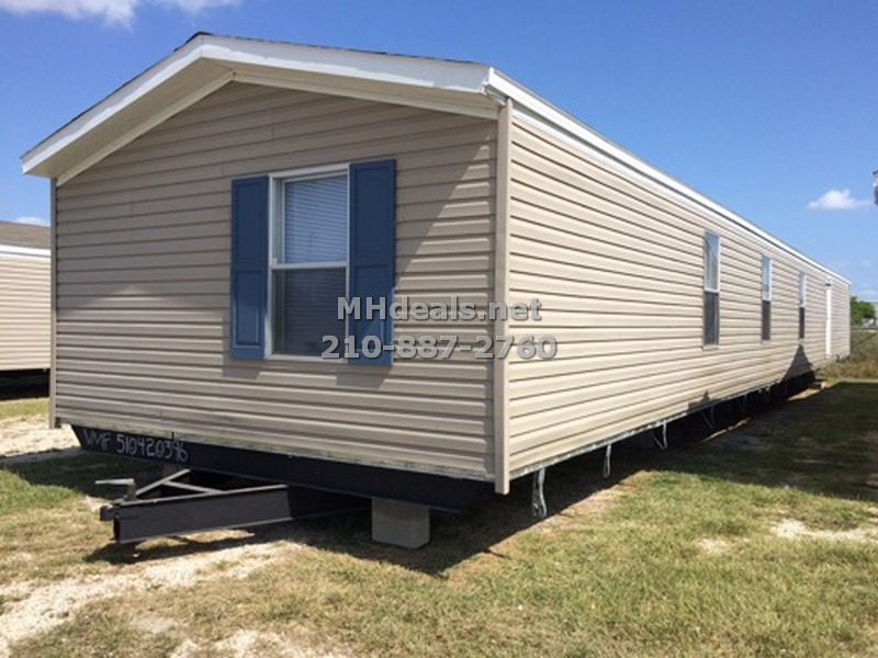 Large single wide wind zone 2 home corpus christi for Large prefab homes