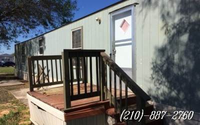 3 bed 2 bath Singlewide 15 K- San Antonio