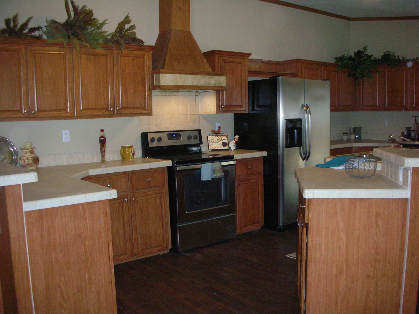 Spring Branch land and home kitchen view