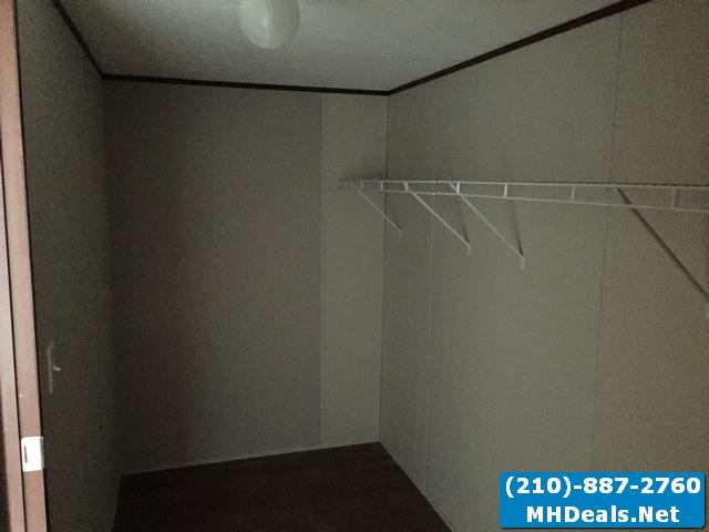 Walk- in closet