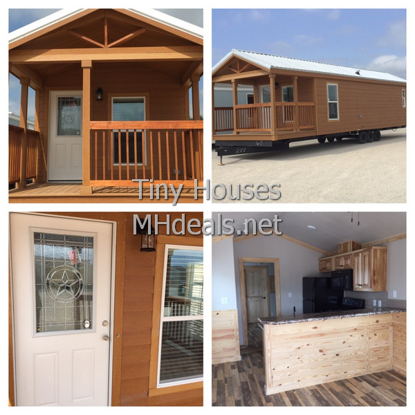 1 Bedroom Tiny Cabin with Porch | Manufactured homes|Tiny Homes ...