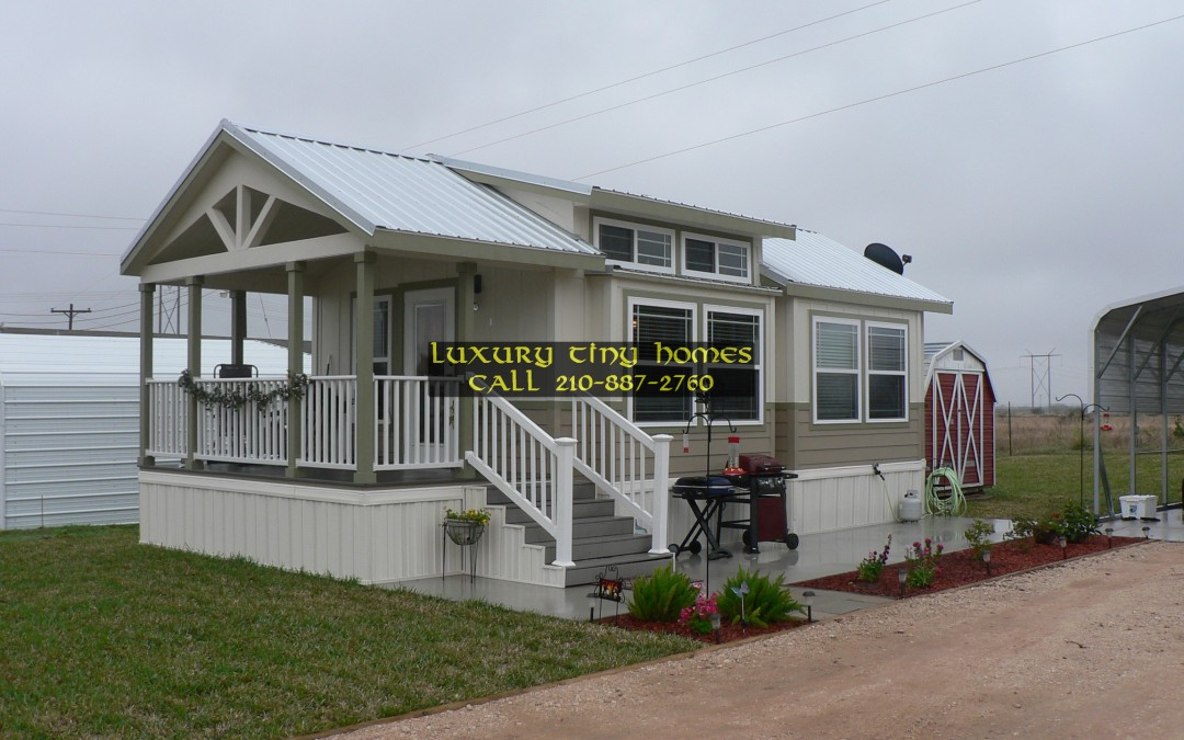 The tiny home revolution luxury small cabin park model homes for One bedroom mobile homes for sale in texas