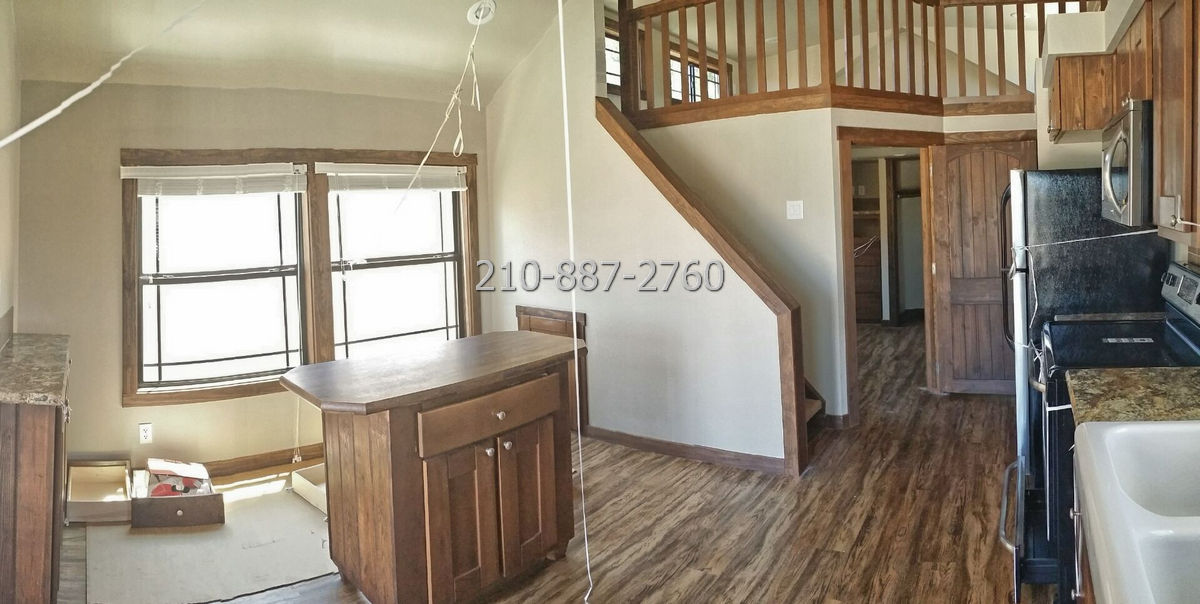 1 bedroom porch model cabin with loft 04