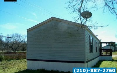 2 bed 2 bath used singlewide mobile home- san antonio texas