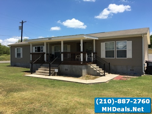 Poteet Land and home- 3 bed 2 bath with shed
