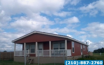 Wind Zone II 3 bed 2 bath Used doublewide Manufactured home- Sinton, TX