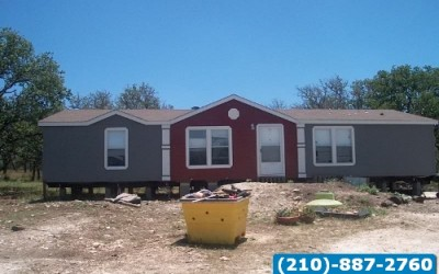 Great 3 bedroom 2 bath used doublewide home