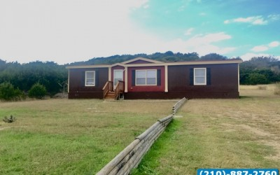 3 bed 2 bath land home used doublewide- Copperas Cove