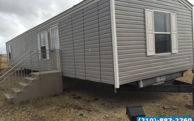 2 bed 1 bath used singlewide manufactured home- Seguin