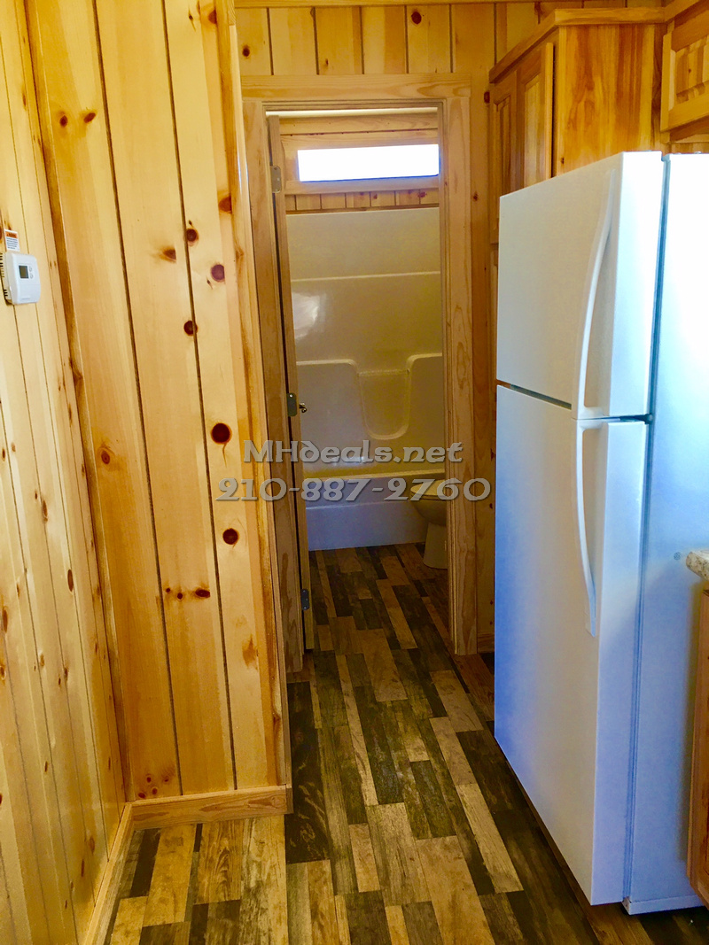 2 bedroom tiny home cabin with porch006