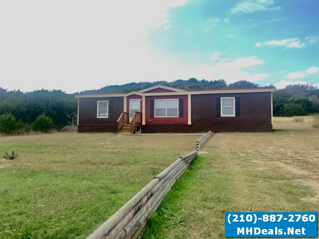 3 bed 2 bath used doublewide Land home- Copperas Cove Texas