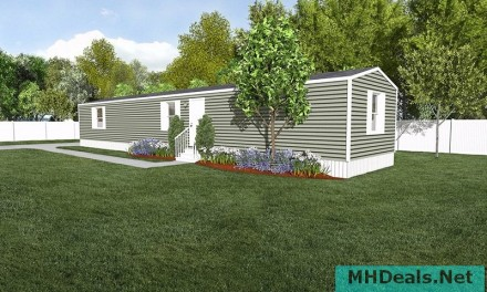2 bed 2 bath New Singlewide Home Clayton Delight