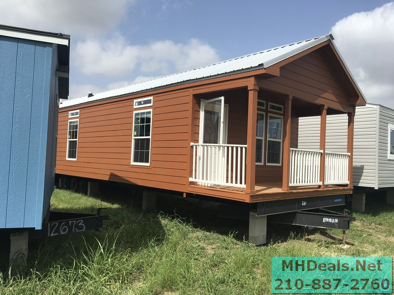 2 bedroom 1 bath cedar sided porch cabin