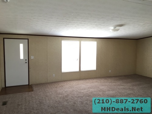 3 bed 2 bath doublewide mobile home Living room