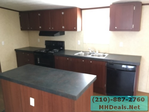 3 bed 2 bath doublewide mobile home island
