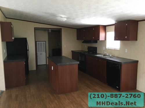 3 bed 2 bath doublewide mobile home kitchen